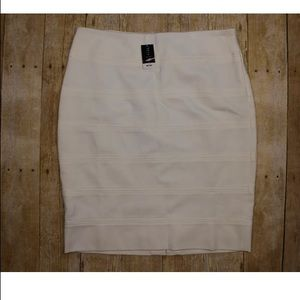 Womens White House Black Market Pencil Skirt 10